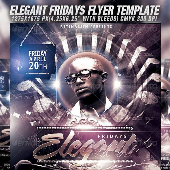 Elegant Fridays Flyer Template
