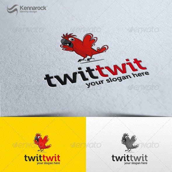 TwitTwit Logo Template
