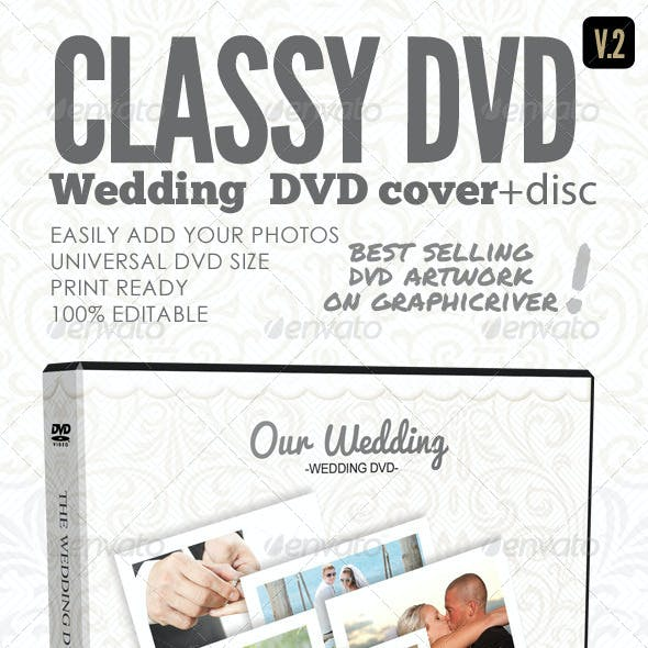 Classy Wedding DVD Covers V.2