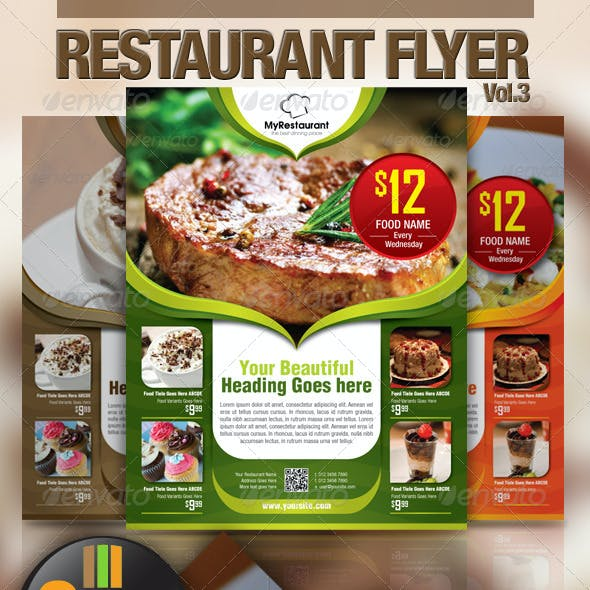 Restaurant Flyer Vol.3