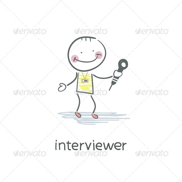 Interview. Illustration.