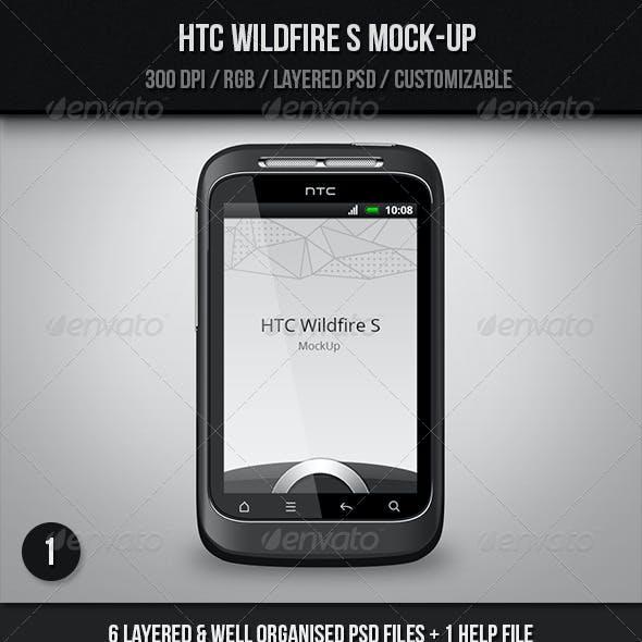 NTC Widfire S Smartphone Mock-up