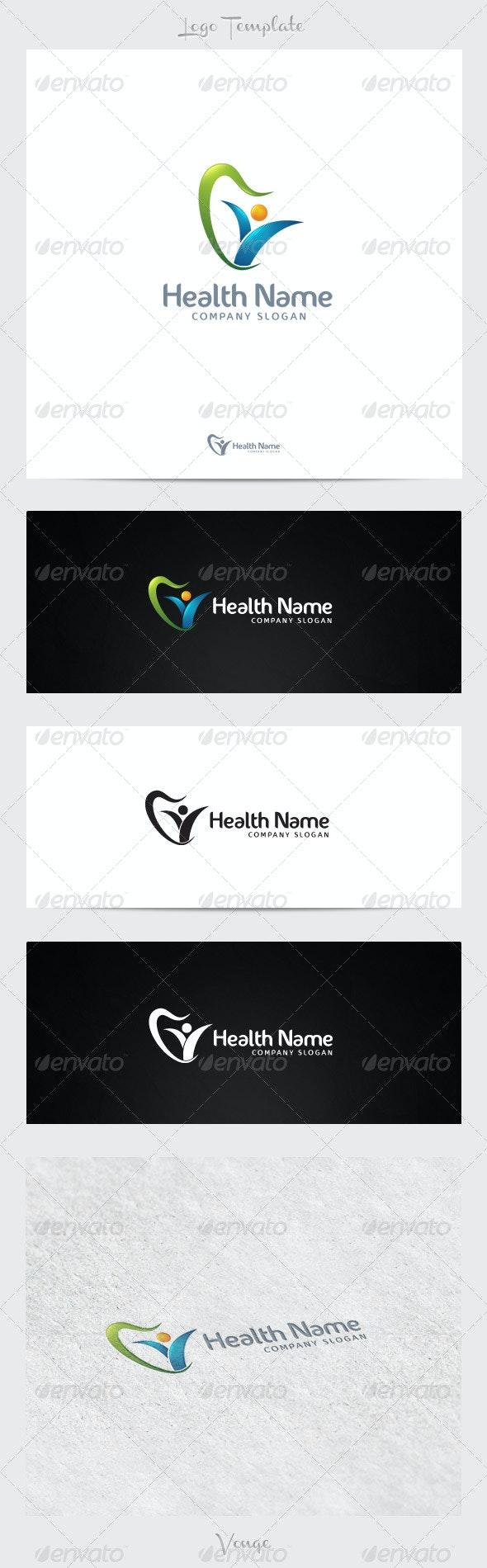 Health Company - Company Logo Templates