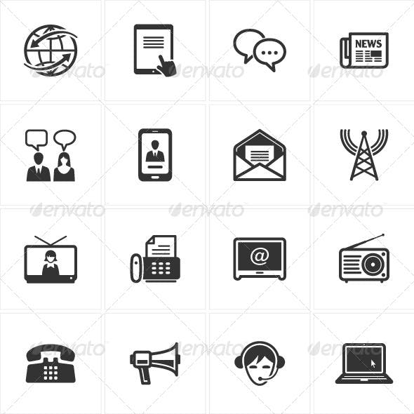 Communication Icons-Set 2