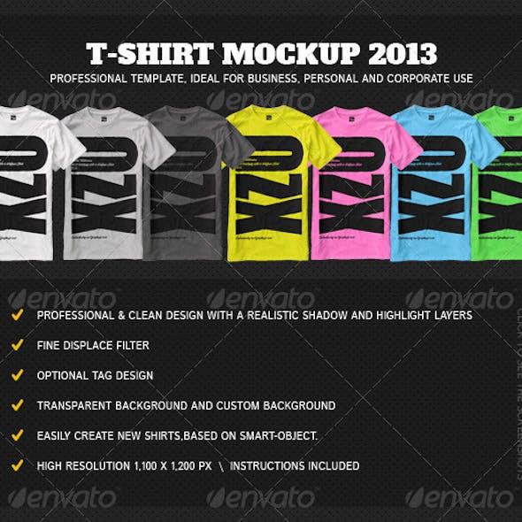 T-Shirt Mock Up 2013