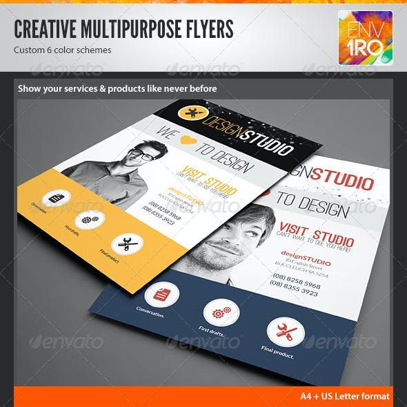 Creative Multipurpose Modern Flyers / Magazine Ads