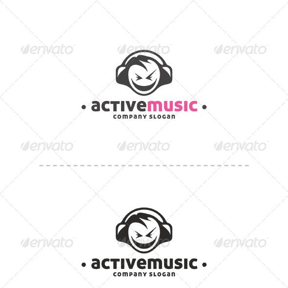 Active Music Logo