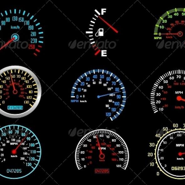 Car Speedometers