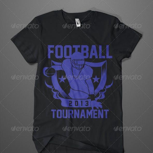 American Footbal Tournament T-Shirt