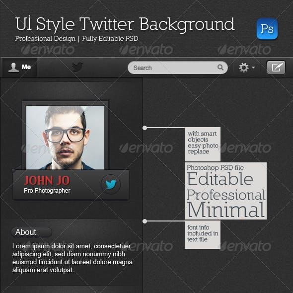 UI Style Twitter Background