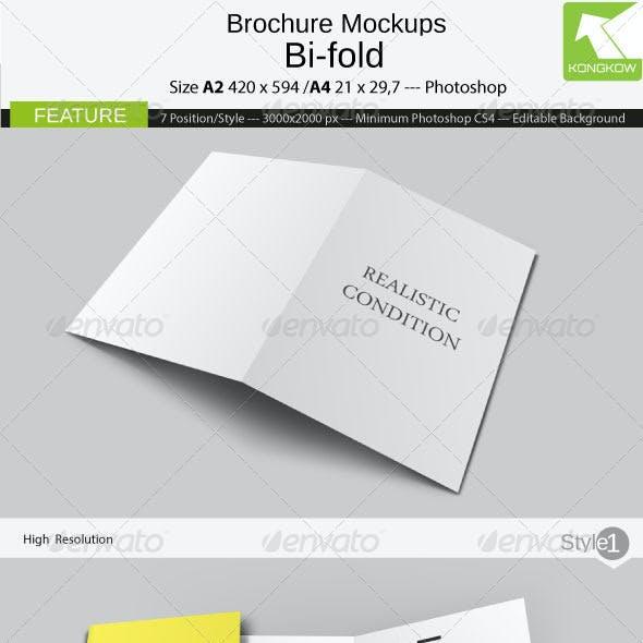 Brochure Mockups 4 Pages