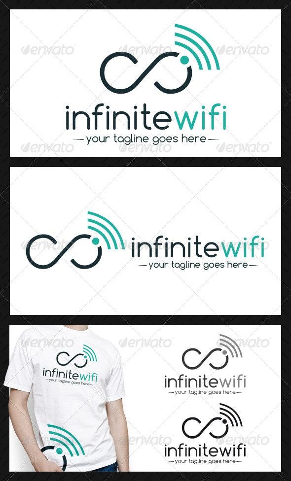 Infinite Wifi Logo Template - Symbols Logo Templates