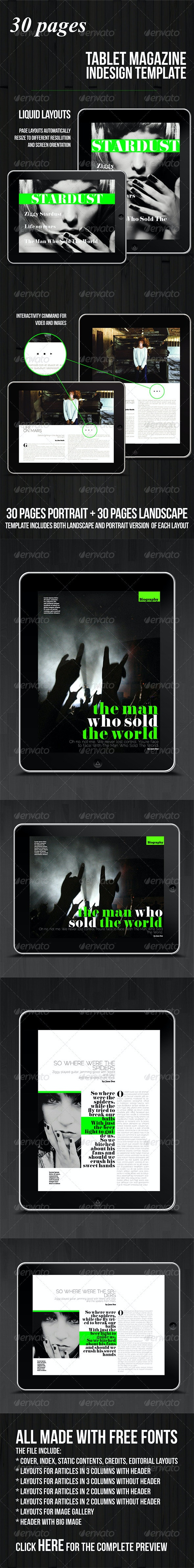 Tablet 30 Pages Multipurpose Magazine