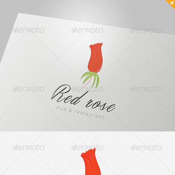 Red Rose Pub and Restaurant Logo