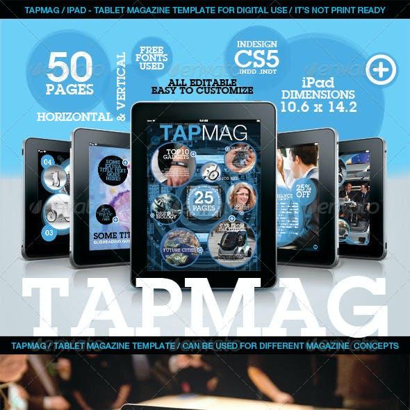 Tabmag Tablet Magazine Template