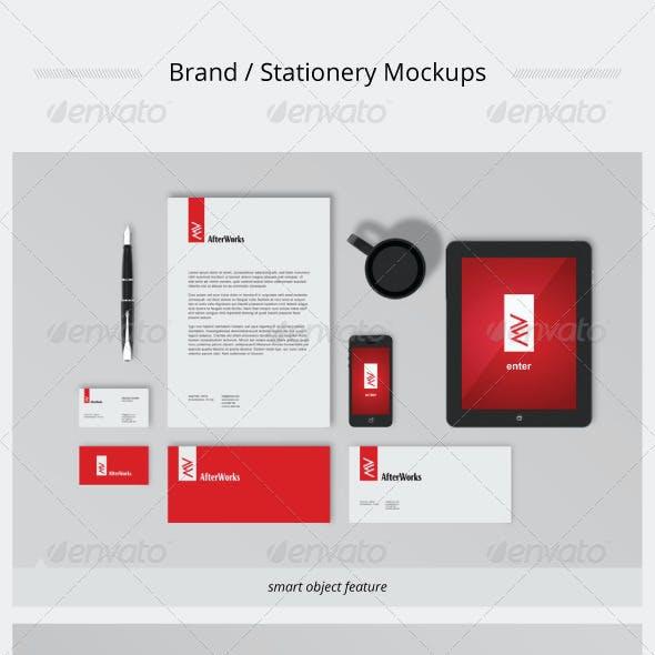 Brand / Stationery Mockups