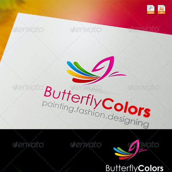 Butterfly Colors Logo