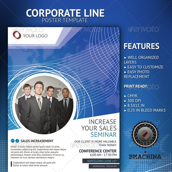 Increase Your Sales - Poster Template