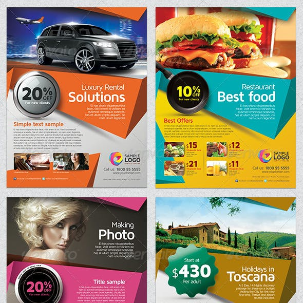 Multipurpose Business Flyer Template Vol.01
