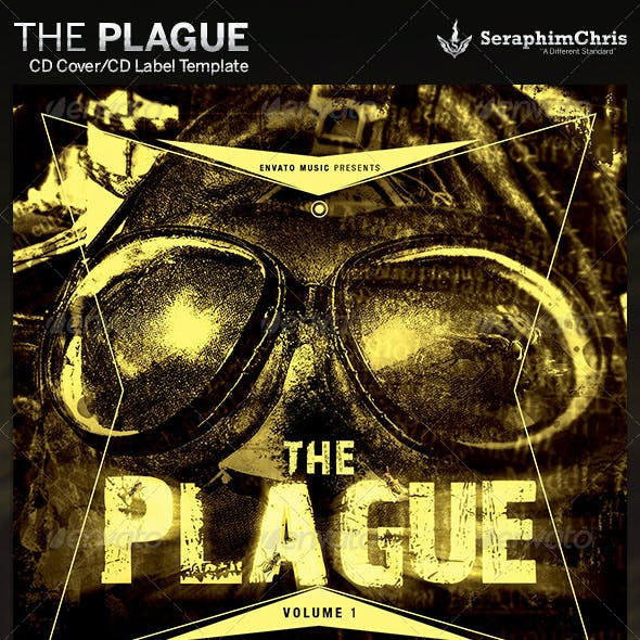 The Plague: CD Cover Artwork Template