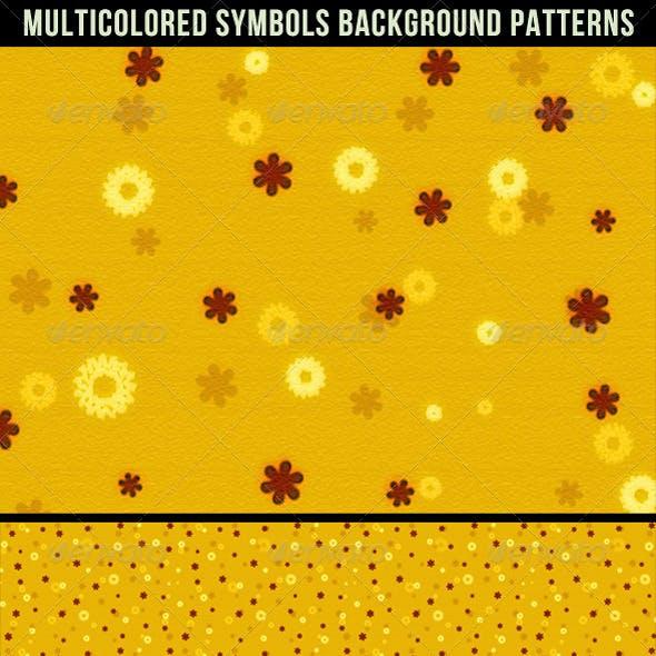 Multicolored Decorative Background Patterns