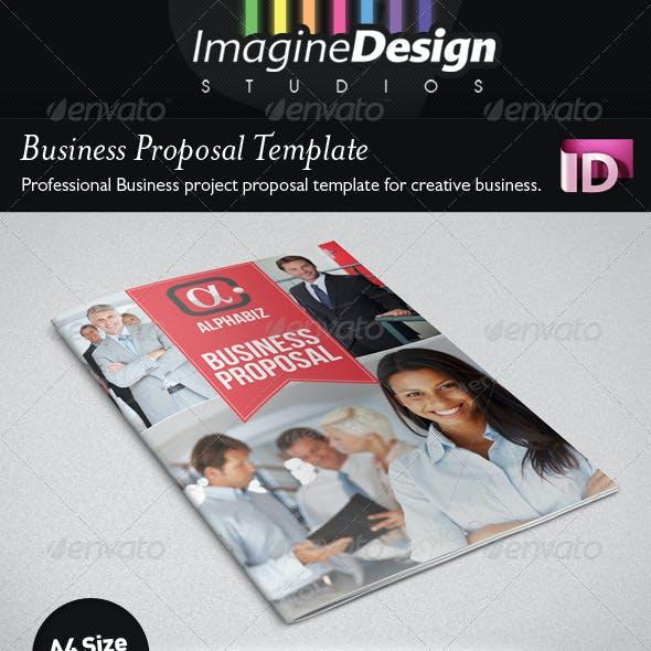 "Business Proposal Template ""AlphaBiz"""