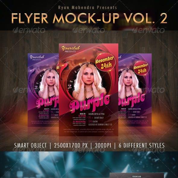 Flyer Mock-Up Vol. 2