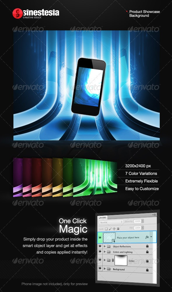 Lines Showcase Background - Miscellaneous Backgrounds