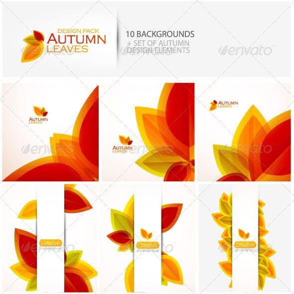 Autumn design pack