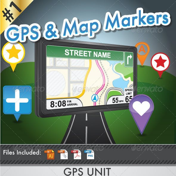 GPS and Map Markers