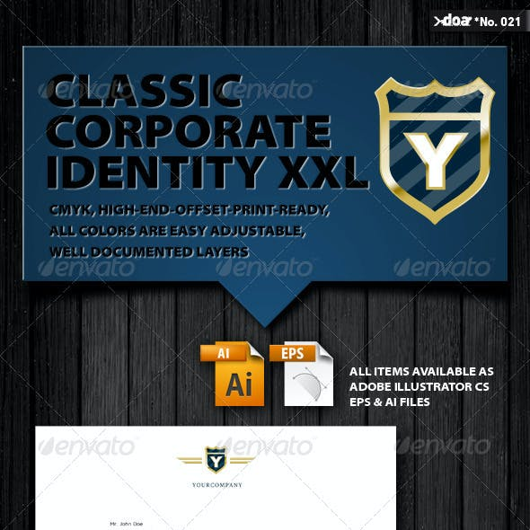 Classic Corporate Identity XXL