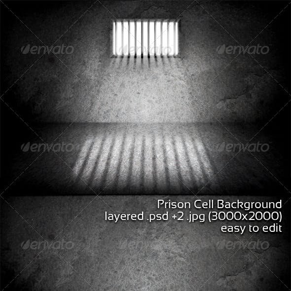 Prison Cell Background