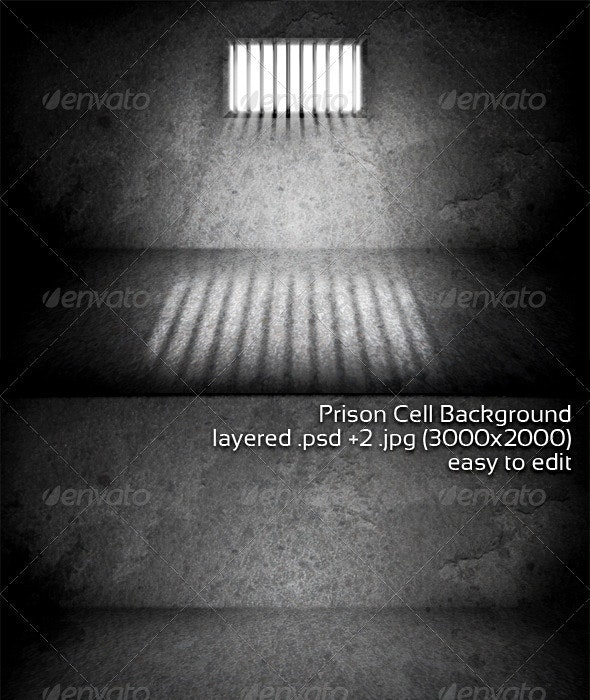 Prison Cell Background - 3D Backgrounds