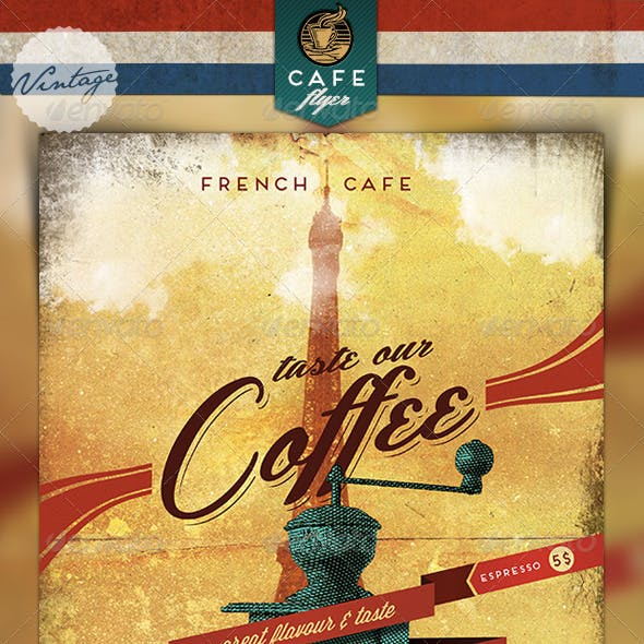 Old Coffee Flyer