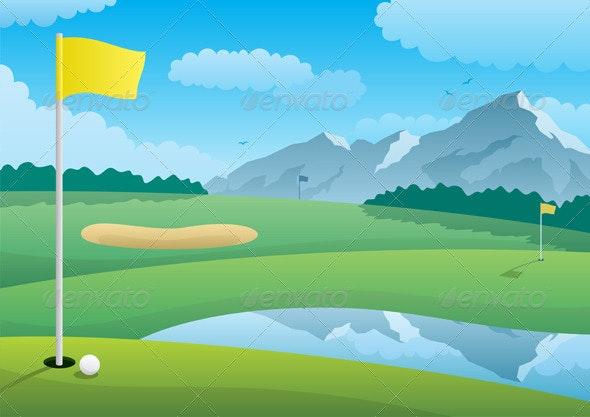 Golf Course - Landscapes Nature