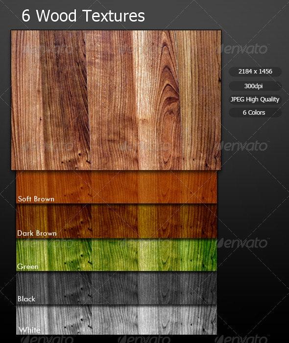 6 Wood Textures - Wood Textures