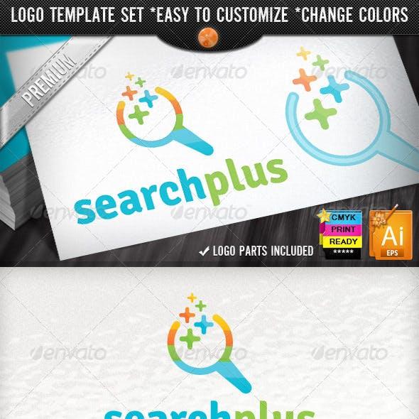 SEO Optimize Company Pixel Plus Search Logo