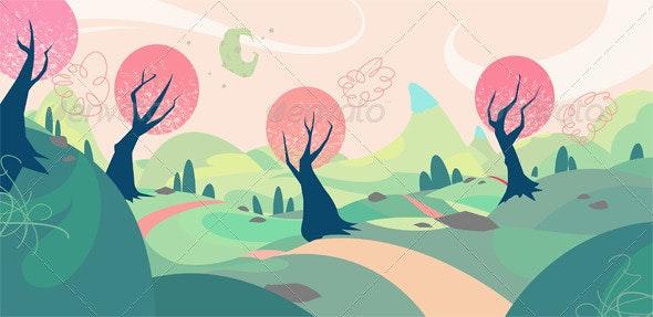 Landscape Design - Backgrounds Decorative