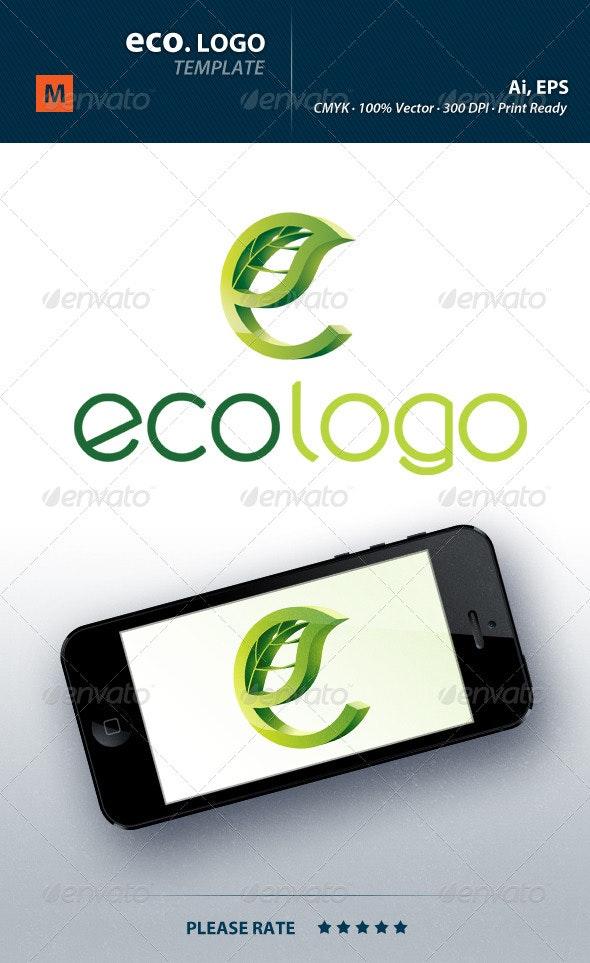 Eco Logo - Nature Logo Templates