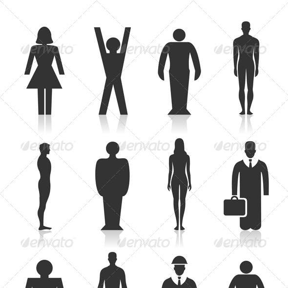Icon the person