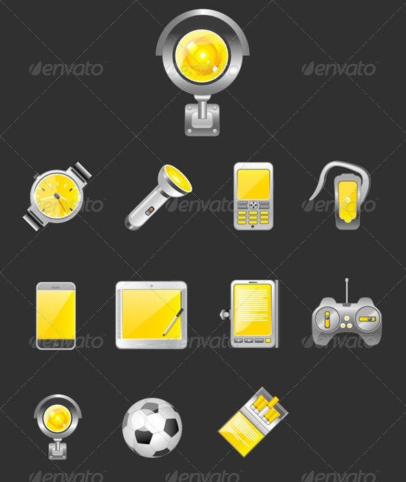Orange Icons - Web Icons