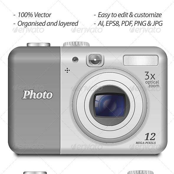 Vector Digital Compact Camera