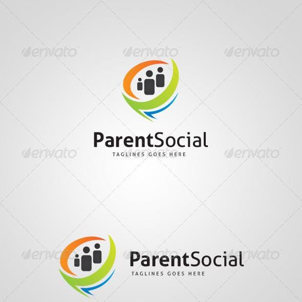 ParentSocial Logo Design