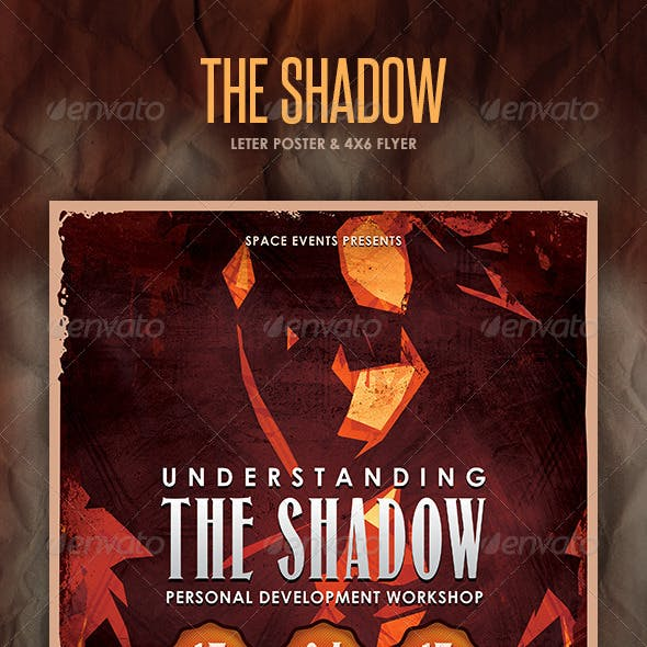 The Shadow Poster and Flyer