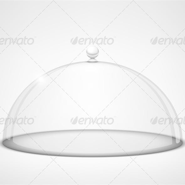 Glass Transparent Half-Sphere