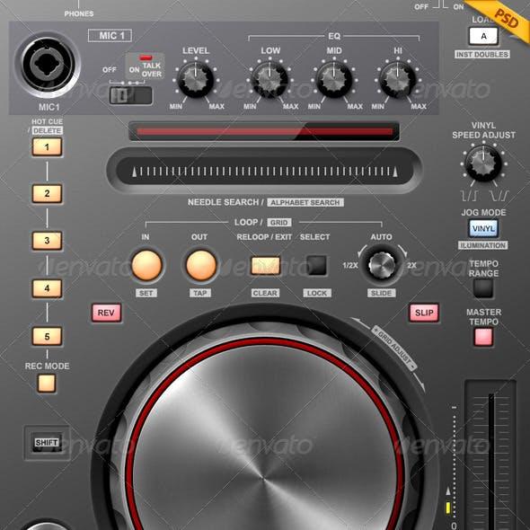Tablet/Phone UI PRO 2  V.10 / MOBILE DJ