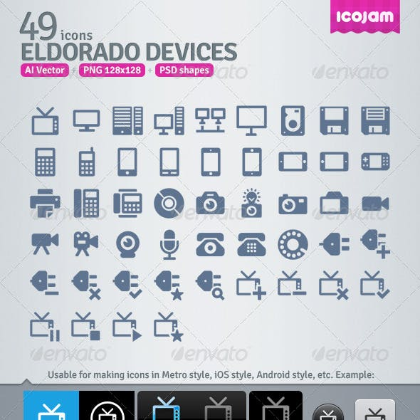 49 AI and PSD Devices strict Icons