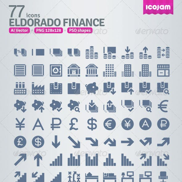 77 AI and PSD Finance strict Icons