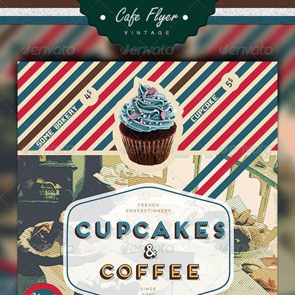 Coffee & Cupcake Flyer