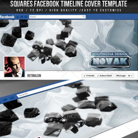 Squares FB Timeline Cover
